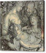 Sine Cerere Et Libero Friget Venus Acrylic Print