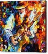 Sing My Guitar Acrylic Print
