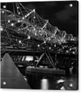 Singapore Helix Bridge Acrylic Print