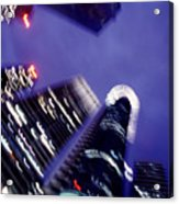 Singapore Office Towers Acrylic Print