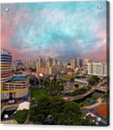Singapore Rochor Commercial And Residential Mixed Area Acrylic Print