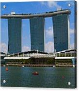 Singapore Ship Top Acrylic Print