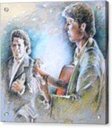 Singer And Guitarist Flamenco Acrylic Print