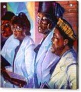 Singin His Praises Acrylic Print