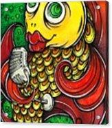 Singing Fish Acrylic Print