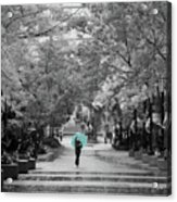 Singing In The Rain Acrylic Print