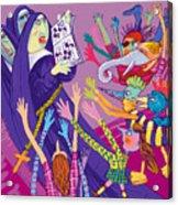 Singing Nuns Acrylic Print