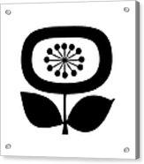 Single Flower 2  Acrylic Print