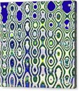 Single High Rise Abstract Phoenix Acrylic Print