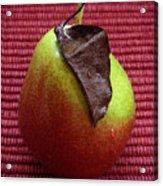 Single Pear Too Acrylic Print