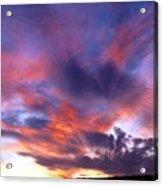 Singular Sunset Acrylic Print