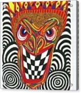 Sinister King Acrylic Print