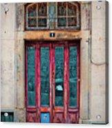 Sintra Door Acrylic Print