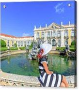 Sintra Travel Woman Acrylic Print