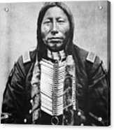 Sioux: Crow King Acrylic Print by Granger