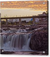 Sioux Falls Sunset Acrylic Print