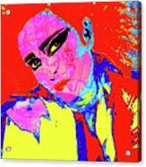 Siouxsie With Dragon Tattoo Acrylic Print
