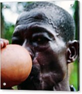 Sipping Palm Wine Acrylic Print