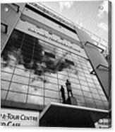 sir alex ferguson stand Manchester united old trafford stadium uk Acrylic Print