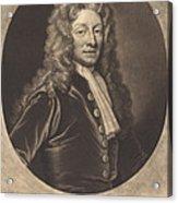 Sir Christopher Wren Acrylic Print