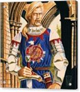 Sir Dinadan Acrylic Print