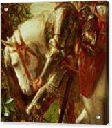Sir Galahad Acrylic Print