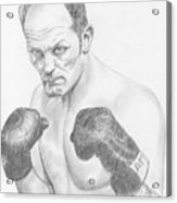 Sir Henry Cooper Obe Acrylic Print