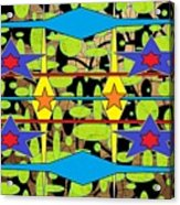 Sir Mbonu Christhe Arts Of Textile Designs #30 Acrylic Print