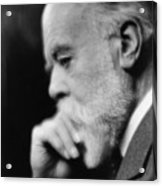 Sir Oliver Lodge 1851-1940, British Acrylic Print by Everett