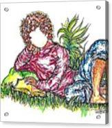 Sir Sage Acrylic Print