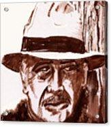 Sir Sean Connery Acrylic Print