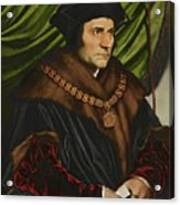 Sir Thomas More Acrylic Print