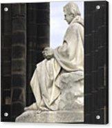 Sir Walter Scott Statue Acrylic Print