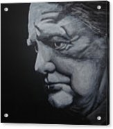 Sir Winstone Churchill Acrylic Print
