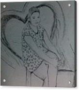 Sirstsketch Acrylic Print