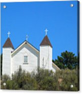 Sisquoc Church Acrylic Print