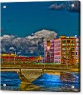 Sister Cities Pedestrian Bridge Acrylic Print