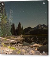 Sister In The Moonlight Acrylic Print