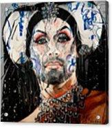 Sister Phyiss Remixed Acrylic Print