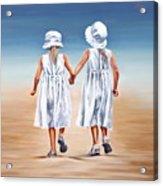 Sister S Walk Acrylic Print