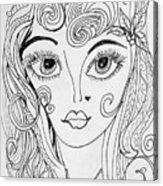 Sisterhood Of The Doodling Pens 4 Acrylic Print