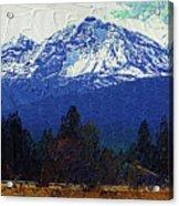 Sisters Oregon Ranch Acrylic Print