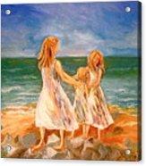 Sisters Acrylic Print