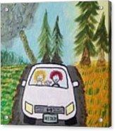 Sisters Road Trip Acrylic Print