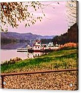 Sisters Ville Ferry Acrylic Print