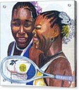 Sisters Williams Acrylic Print