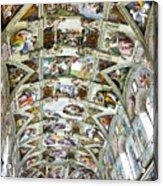 Sistine Chapel Acrylic Print