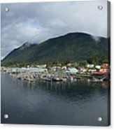 Sitka Alaska From The John O'connell Bridge Is A Cable-stayed Bridge 2015 Acrylic Print