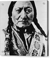 Sitting Bull 1831-1890 Lakota Sioux Acrylic Print by Everett