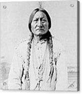 Sitting Bull, A Hunkpapa Lakota Tribal Acrylic Print